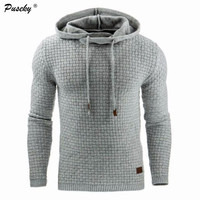 2017 Men Casual Long Sleeve Pullovers Hoodies Man New Slim Hoodie Sweatshirts Fashion Hooded Sportswear Tops