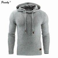 2017 Men Casual Long Sleeve Pullovers Hoodies Man New Slim Hoodie Sweatshirts Fashion Hooded Sportswear Tops