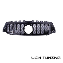 New Style GT Mesh Racing Grille For Mercedes Benz A-class W177 A250 A200 A45 2018-on with Emblem- without camera hole