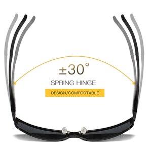 Image 4 - 2019 New Arrival aluminium marka mężczyźni okulary HD soczewki polaryzacyjne Vintage akcesoria do okularów okulary óculos dla mężczyzn mężczyzna 605