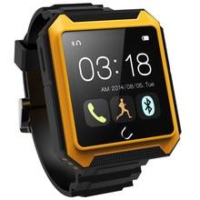Bluetooth Smart Uhr UTERRA wasserdicht IP68 Schrittzähler Smartwatch Armbanduhr mit Kamera TF Karte für 1 Telefon Android Samsung HTC