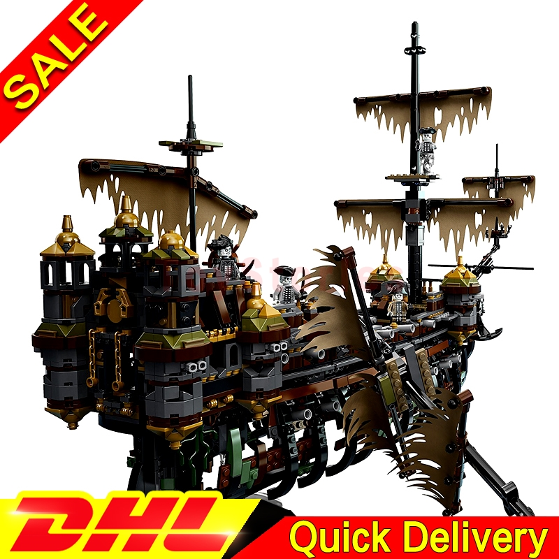 Lepin 16042 Pirate Ship Kits The Slient Mary Children Educational Building Blocks Bricks legoings Toys Model Gift Clone 71042 lepin 16042 pirate ship series the slient mary set legoingys 71042 children educational building blocks bricks toys gift