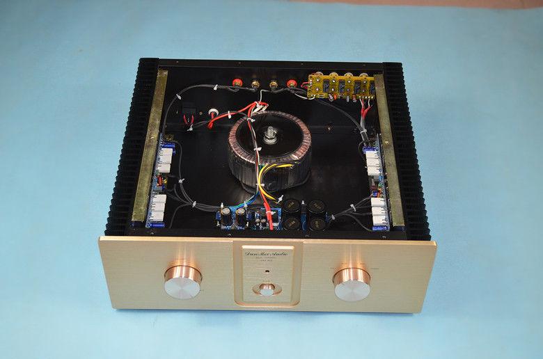 Assembled L10 class AB amplifier High fidelity HIFI borne power amplifier DIY assembled lm4702 hifi audio power amplifier amp board with heatsink class ab 100w 100w