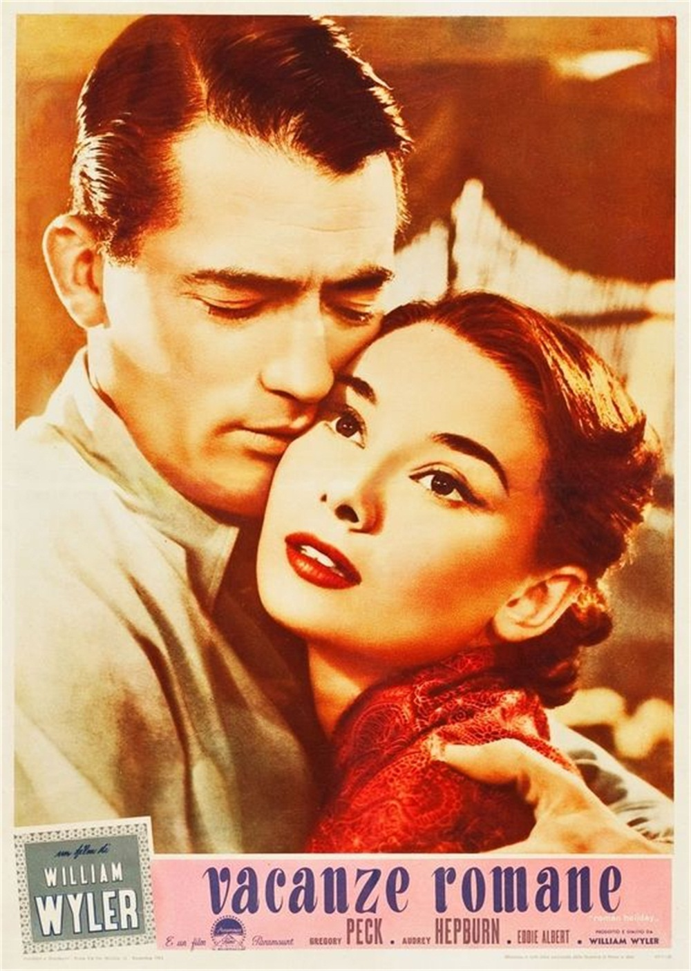 ROMAN HOLIDAY Vintage Movie Film Poster A4,A3,A2,A1 Home Wall Art Print