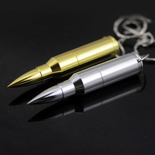 Grade A Golden silver metal Pen Drive memory stick usb stick pendrive Bullet Shape usb flash