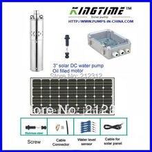 5 года гарантии солнечный насос для глубоких скважин, орошения питанием от батареи водяного насоса, бесплатная доставка, модель: JS3-0.9-32