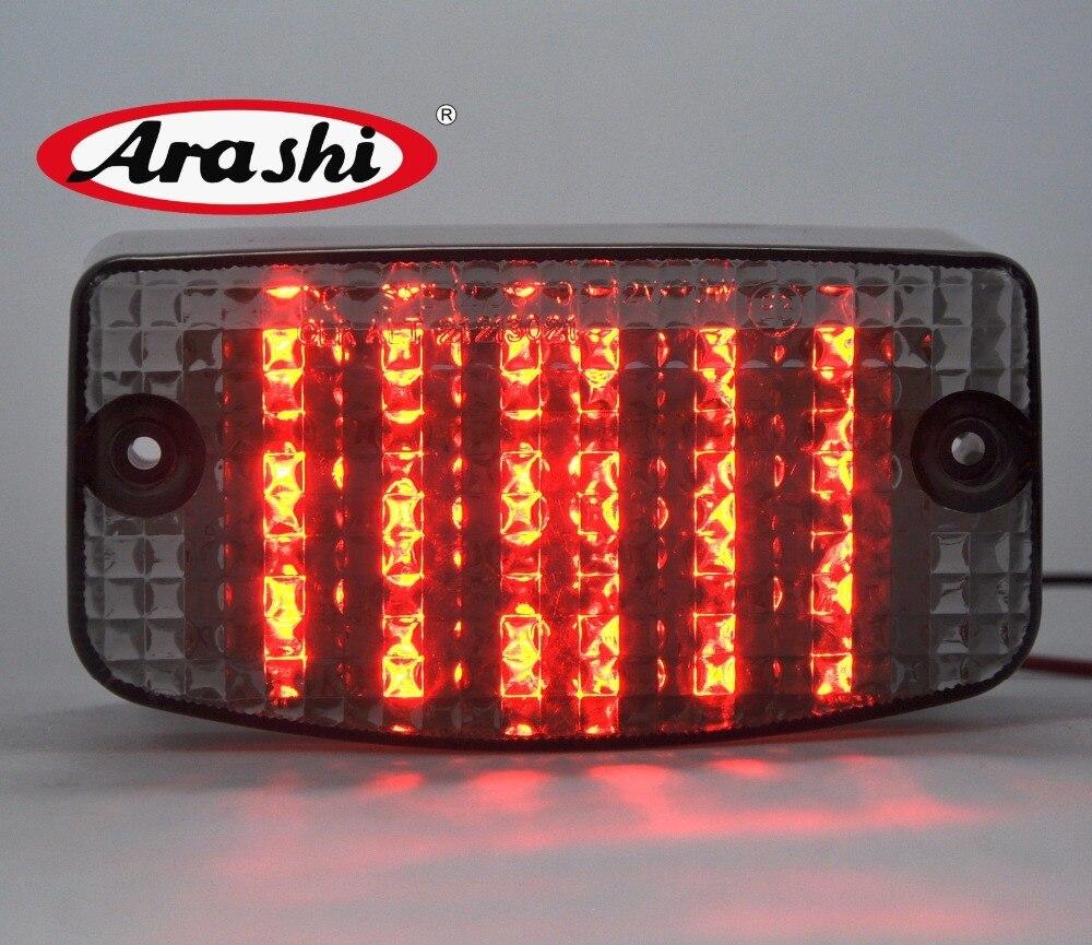 Arashi pour HONDA 1994-2007 SPIRIT 750 MAGNA moto clignotant porte-plaque d'immatriculation feux arrière feux frein à LED