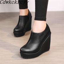 Новинка; сезон весна; модная женская обувь с круглым носком