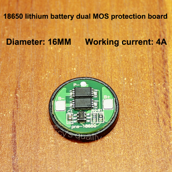 18650 lithium battery overcharge and over discharge protection board 18650 universal double MOS protection board over current 4A 10set lot 18650 lithium battery universal dual mos protection board 4 2v anti overcharged over discharge