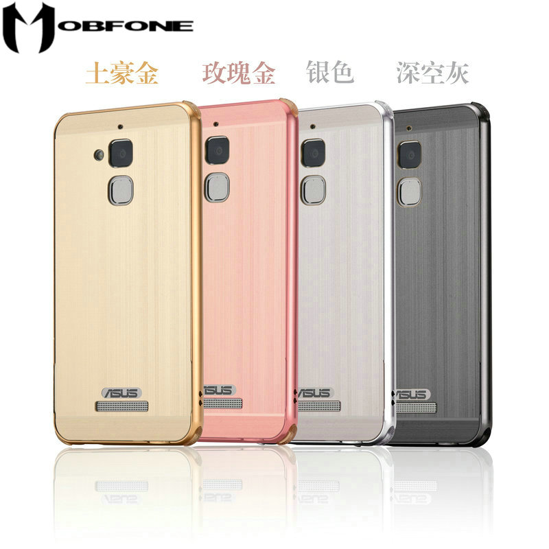High Quality Brushed Metal Frame Bumper For Asus ZenFone 3 Max ZC520TL X008D 5.2 Shockproof Case LeK1