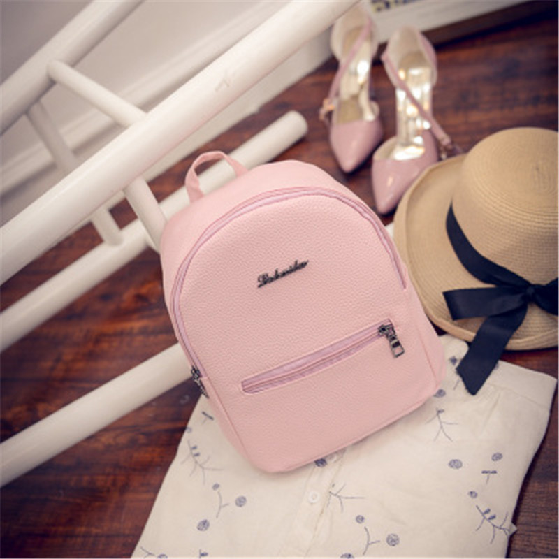 LOOZYKIT 2019 Backpack Summer Small Women Backpack Candy Mini Student Travel Backbag Backpack Schoolbag Girls Mochila Bagpack