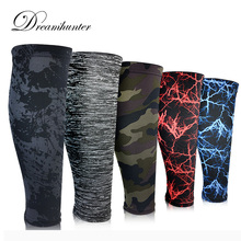 1 pcs Sports calf support leggings breathable pressure knee pads Basketball elastic warm legs Base Layer Compression Shin Guard
