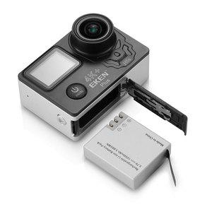 Image 5 - EKEN H5S Plus Camera Hành Động HD 4K 30FPS Với Ambarella A12 Chip Bên Trong Chống Nước 30 M 2.0 Cảm Ứng màn Hình EIS Đi Camera Thể Thao PRO