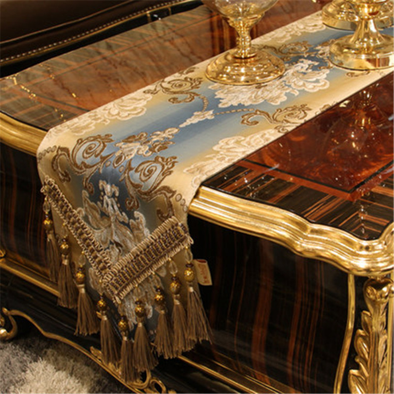 SBB Europe Noble Luxury Style Modern Simple Table Flag TV Cabinet Cover Towel Tea Table Chinese Table Flag Cloth Customized