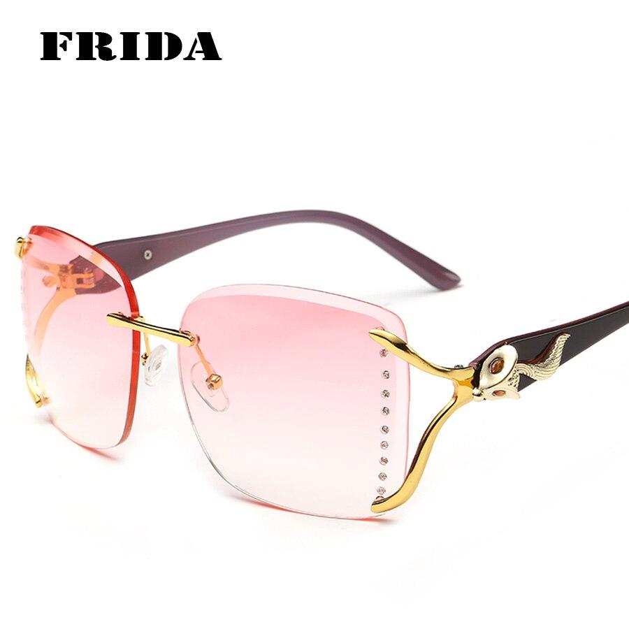 Women s Eyeglass Frames With Crystals : Aliexpress.com : Buy FRIDA 2016 Women Crystal cutting ...