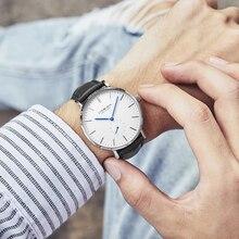 цена на Losian Quartz Watch New Fashion Water Resistant 3Bar Shock Resistant Hardlex Round Wrist Watch relogio masculino de luxo