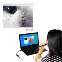 10 Pcs Ear Cleaning Endoscope HD Visual Ear Spoon Multifunctional Earpick With Mini Camera Ear Health Care Cleaning Tool