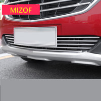 Metal Front Face Brightly Silver Racing Grills Mouldings For Chevrolet Equinox 2017 2018 ADA003