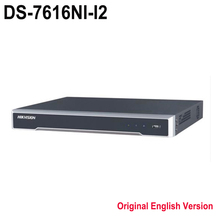 Хик DS-7616NI-I2 Английский Обновление 12MP 8-канальный NVR сторонних камеры, plug & play H.265 cam нет POE NVR для МПК