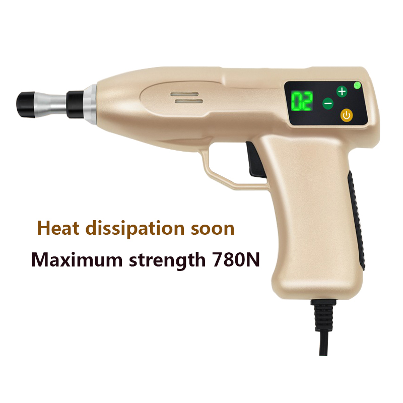 780N 6 Heads Electric Activator Massager Cervical vertebrae treatment orthodontic device Chiropractic Instrument Correction Gun