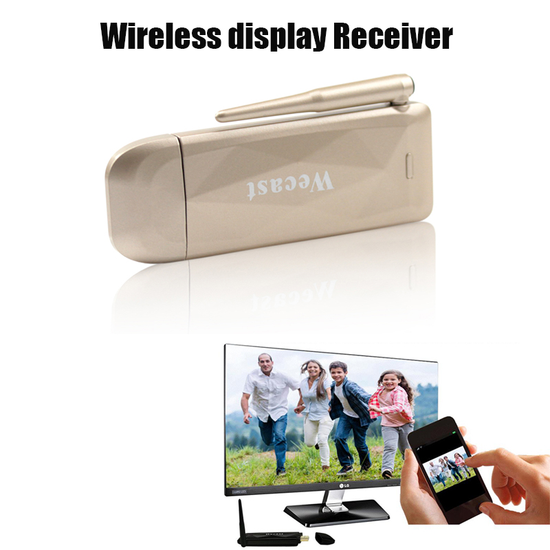 Coolload AudioVideo Store Wecast Miracast DLNA Wireless WiFi Display New Edition Mirascreen   TV Dongle HDMI Streaming Media Player Support Mirroring