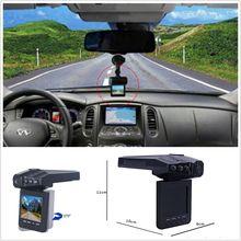"""2.5 """"Full HD 1080 P Coche DVR Cámara del Vehículo Dash Cam IR Night Vision Video Recorder dash cam"""