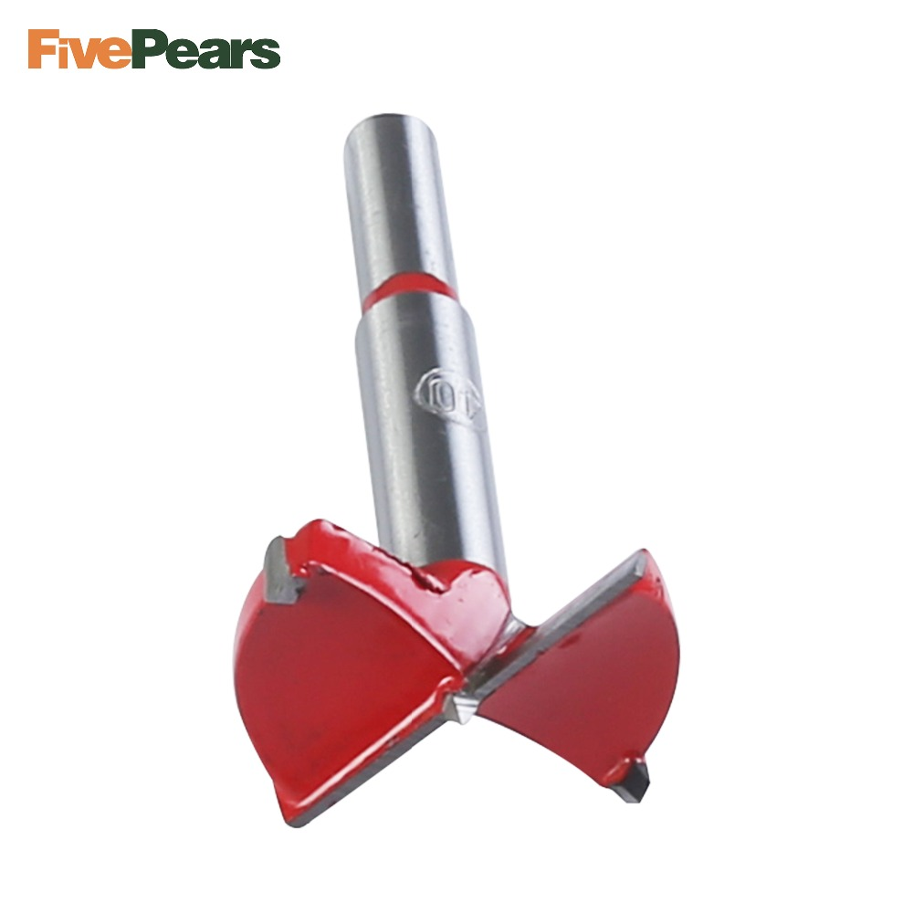 1PC 35/38/40/45/50/53/55/60/65mm Hole Saw Woodworking Core Drill Bit Hinge Cutter Boring Forstner Bit Tipped Drilling 5 pcs set auger drill forstner bit set hinge boring woodworking hole saw cutter round shank wood tools for drilling machine