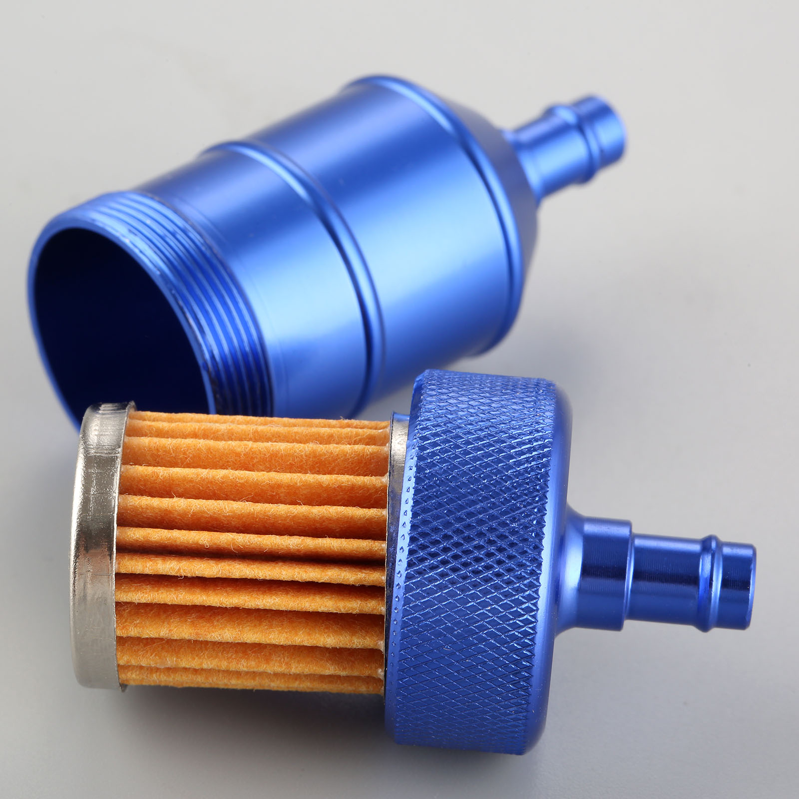 Image 5 - 5Color 8mm Petrol Gas Fuel Filter Cleaner CNC Aluminium For Motorcycle Pit Dirt Bike ATV Quad Inline Oil Gas Fuel Filter-in Oil Filters from Automobiles & Motorcycles