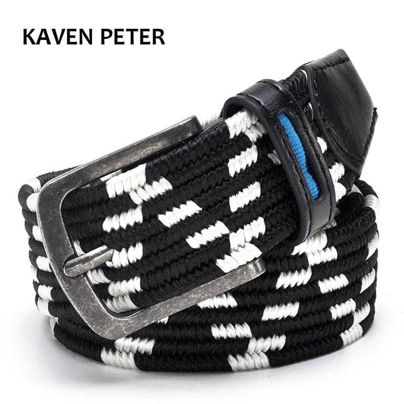 2017 Cinturón elástico con estiramiento Cinturón de golf informal - Accesorios para la ropa