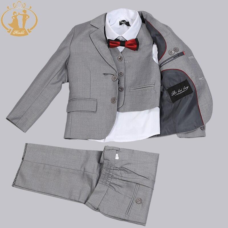 Dark Green Business Suit Groom Tuxedos Slim Fit for Men Wedding Suit 3  Pcs(Jacket