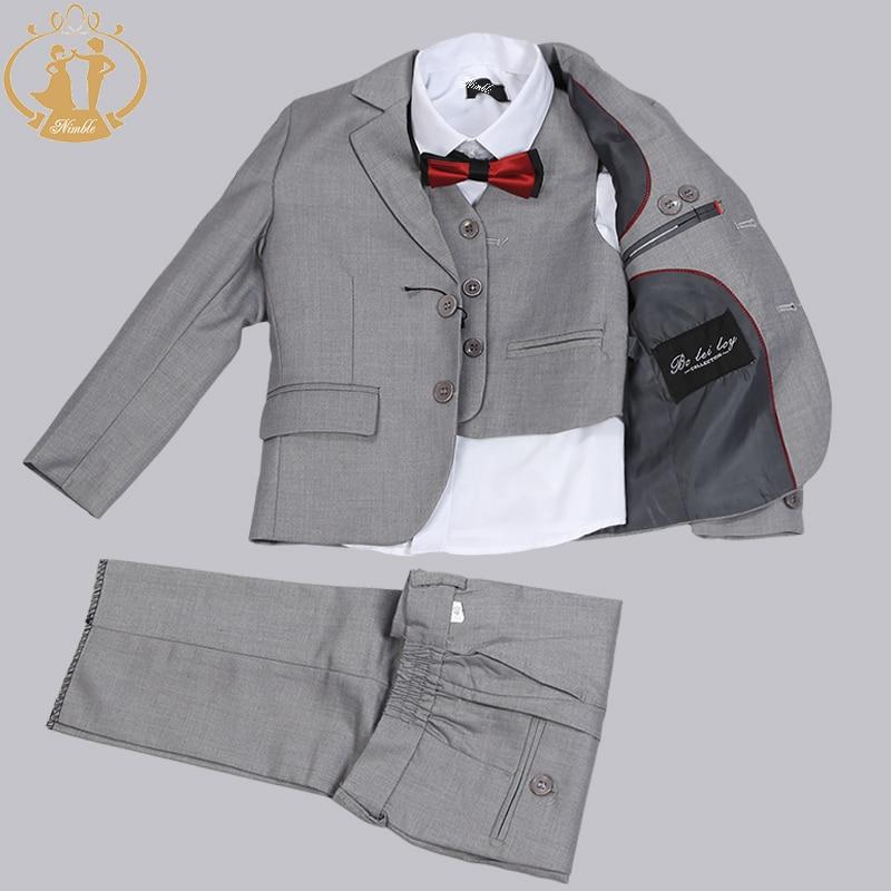Kíméletlen vadonatúj, formális szolid fiú ruhák 3 darabos - Gyermekruházat