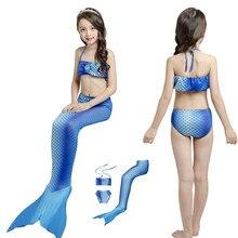 576636c6302c1 2019 子供アニメ人魚の尾の衣装水着 3 個子供ファンシービキニ女の子マーメイド水