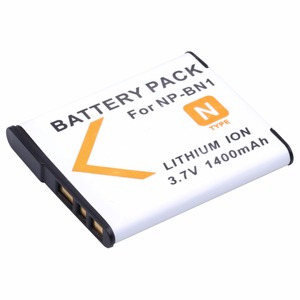 Image 2 - 1400mAh NP BN1 NP BN1 Camera battery For Sony DSC W380 W390 DSC W320 W630 TX5 DSC W530 DSC W570 DSC W650 DSC W800 DSC W830
