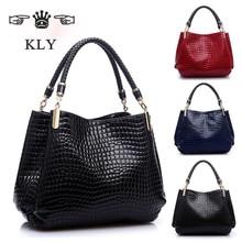 Berühmte Designer Marke Taschen Frauen Leder Handtaschen 2016 Luxus Damen Handtaschen Geldbörse Mode Umhängetaschen Bolsa Sac Krokodil