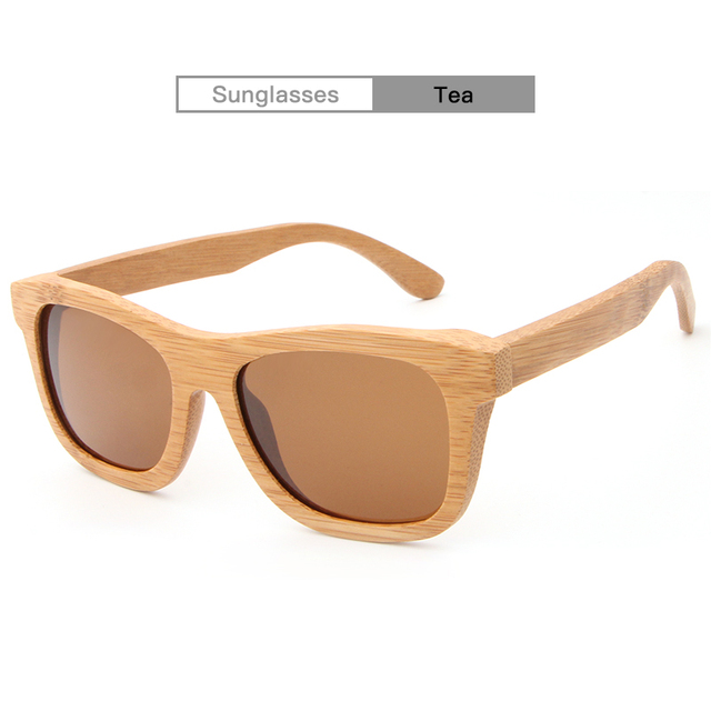54f8564132c AZBSpectaclesnew 2017fashion products men s women glass bamboo sunglasses  retro wood lenses wooden frame handmade ZA03 no bambo