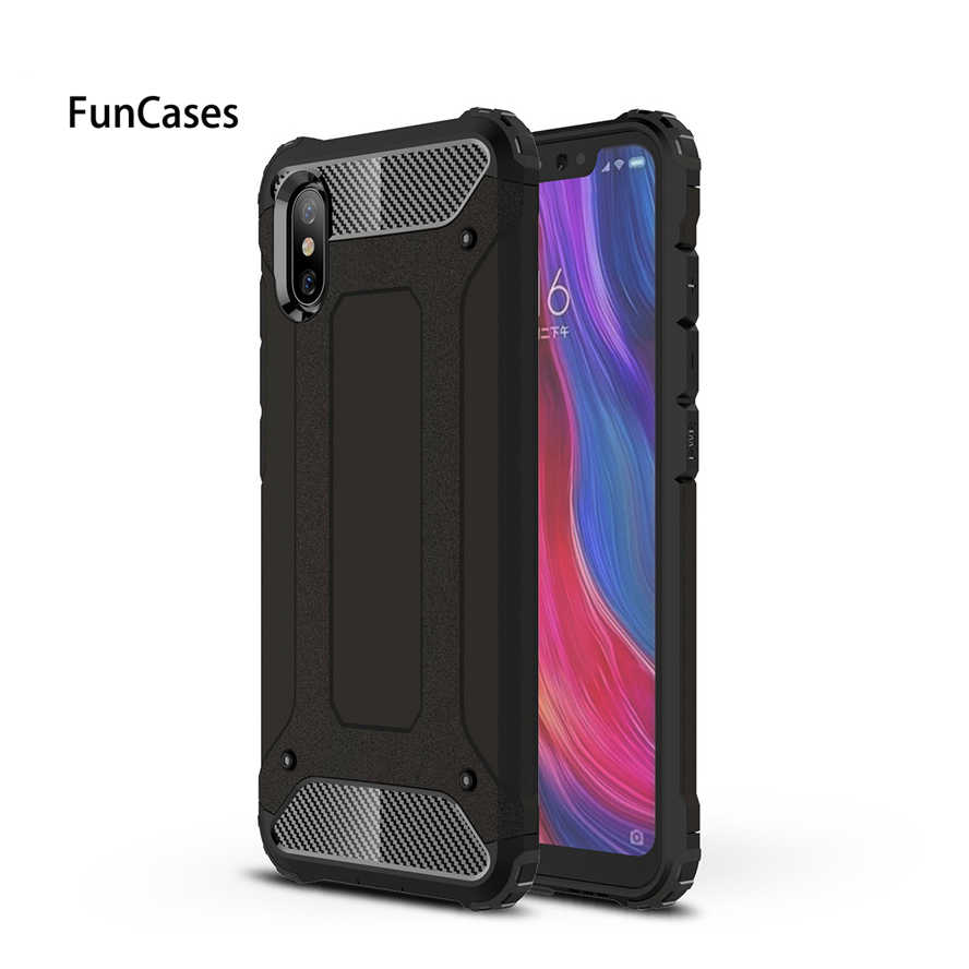 Armor Case For Xiaomi Mi8 Explorer Heavy Duty Protection Shockproof Rugged Back Cover Xiaomi Mi 8 Explorer Hybrid Hard PC TPU