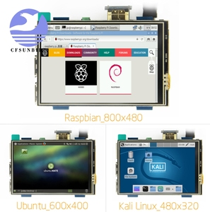 Image 4 - 3.5 inch LCD HDMI USB Touch Screen Real HD 1920x1080 LCD Display Py for Raspberri 4 Model B / Orange Pi (Play Game Video)MPI3508