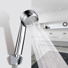 LOY High Pressure Shower Head Water Saving Massage Nozzle Rainfall Bathroom Handheld Shower Head LOY21001 handheld water saving pressure rain shower head 09
