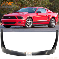 Fits 2010 2011 2012 Ford Mustang V6 XE Style Front 2 Pieces Bumper Lip Chin Spoiler Splitter Bodykits PU