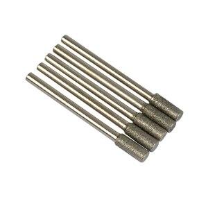 Image 4 - 10 шт., цилиндрические точилки для бензопилы с алмазным покрытием, 4 мм (5/32 дюйма)