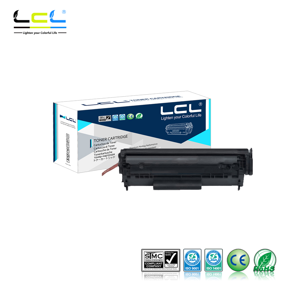 Galleria fotografica LCL 103 CRG103 703 CRG703 303 CRG-303 (1-Pack Noir) Compatible Cartouche De Toner Laser pour <font><b>Canon</b></font> LBP2900/3000