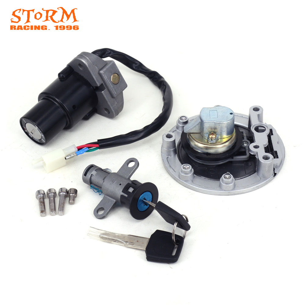 Motorcycle Ignition Switch Seat Lock Key Fuel Gas Cap Set For Yamaha TZR125 TZR 125 150 TZM150 TZM 150 TZR150 TDM850 TDM 850