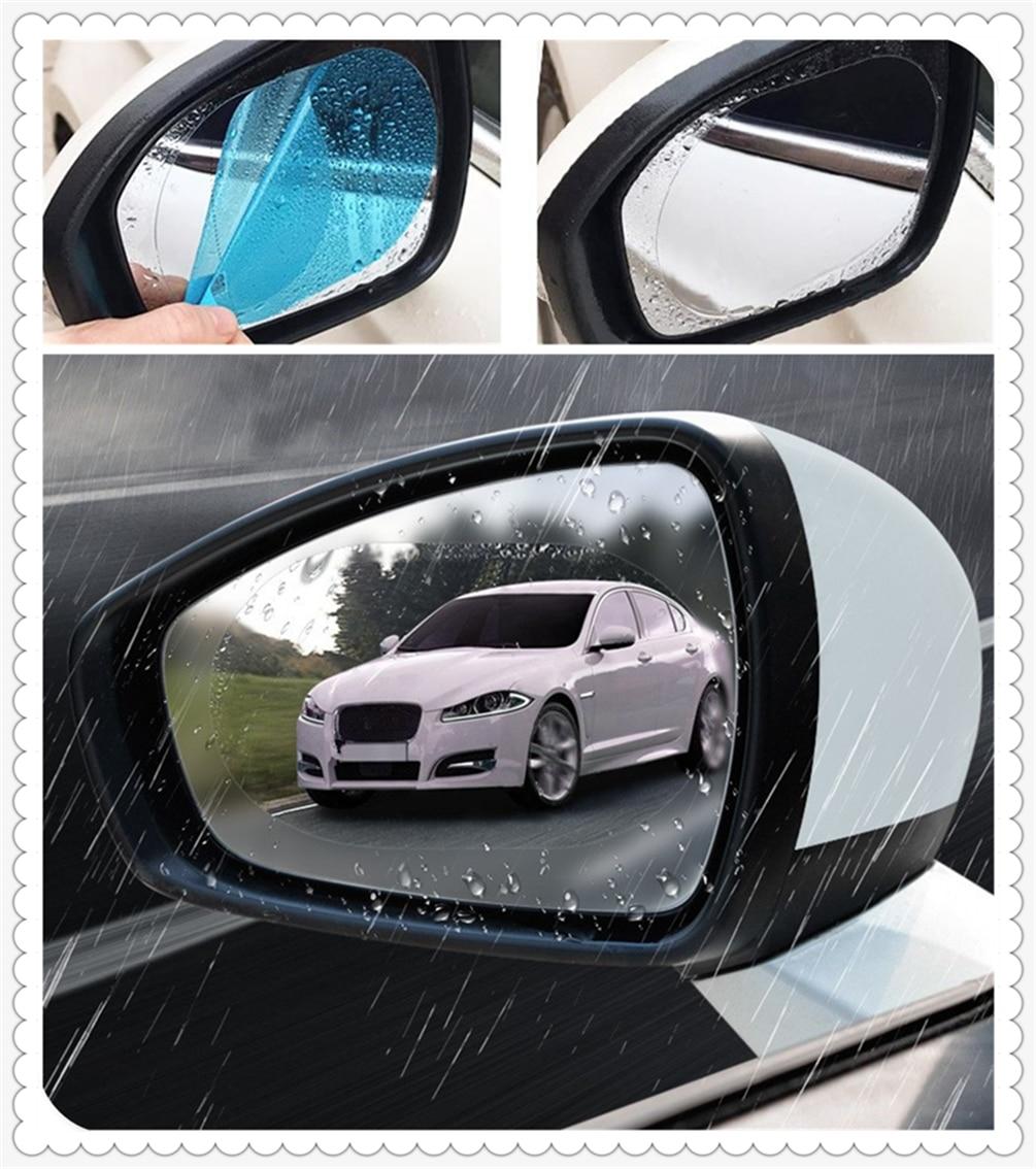 Araba aksesuarları dikiz aynası yağmur film su geçirmez, anti-sis etiket Mercedes Benz AMG GT GLC GLE GLS R sınıfı ML GL G R