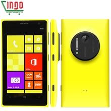 "Original Nokia Lumia 1020 Unlocked Nokia 1020 phone 41.0MP Camra 32GB ROM 2G RAM 4.5"" Touch screen Dual core Free shipping"