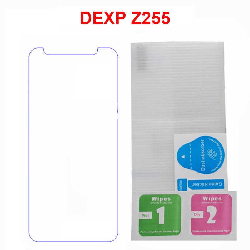 2 piezas para DEXP Ixion Z255 Protector de pantalla de vidrio templado 9 h Protector de seguridad LCD película frontal en Ixion Z255 Z 255 Protector de vidrio