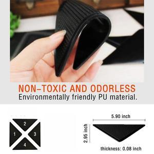 Image 2 - Rug Grijpers voor Tapijt Grijper voor Karpetten Dubbelzijdig Anti Curling Antislip Wasbaar Herbruikbare Pads voor Tegel vloeren Tapijt