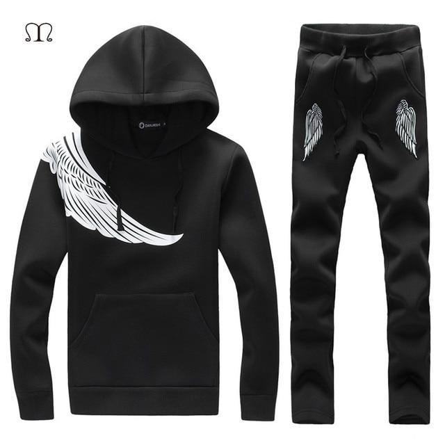 Для мужчин Наборы для ухода за кожей 2018 модная одежда с длинными рукавами  Тонкий Пот Костюмы c02004d3986