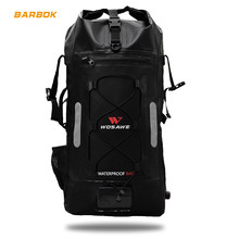 30L Waterproof Motorcycle Backpack Foldable Compressible Moto Tail Touring Travel Storage Luggage Motocross Camping Hiking Bags