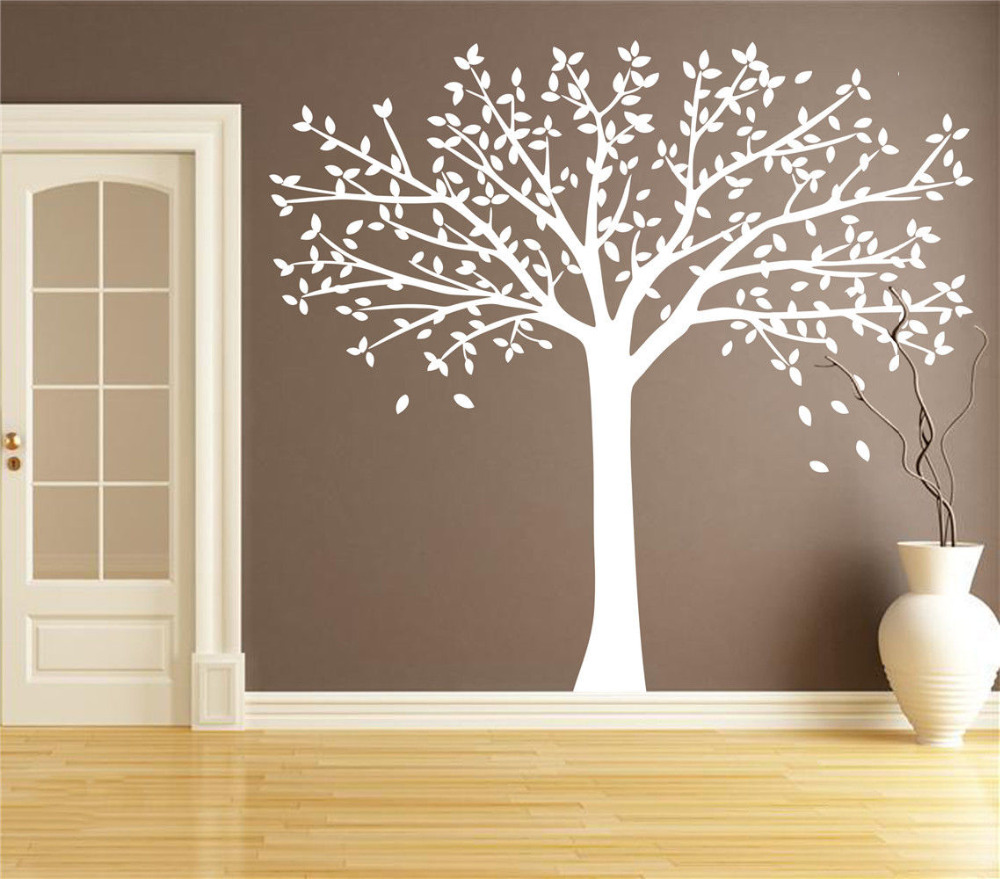 Personalized Birch Tree Vinyl Decal Wall Sticker Art Mural Living Room Decor 200x260cm In Stickers From Home Garden On Aliexpress Alibaba Group