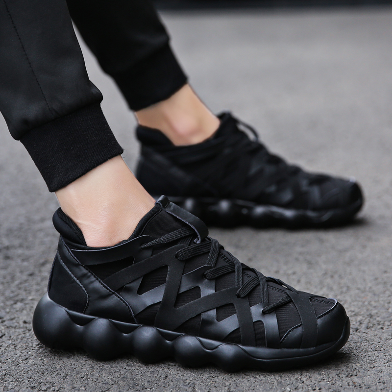 Women fashion Breathable Flat Shoes Comfortable Round Toe Lace Up Casual unisex Sneakers